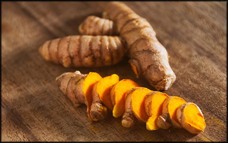 Turmeric is an extremely powerful natural anti-inflammatory that reaches it's full potential when mixed with pepper. It also has the ability to inhibit the growth of new blood vessels in tumors and is an incredibly effective anti-oxidant.