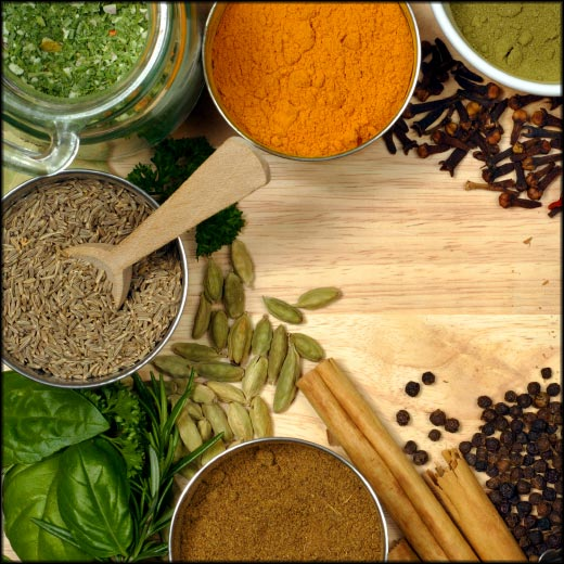 Turmeric4You contains a variety of herbs and spices