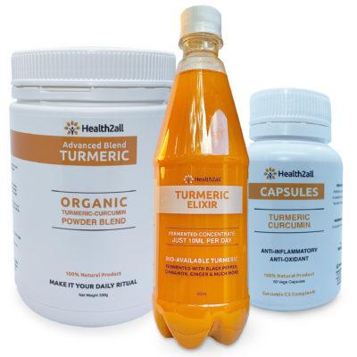 Turmeric Product Combo
