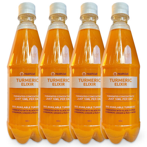 Turmeric Elixir x 4