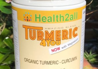 Organic Turmeric Powder Blend Now With Magnesium
